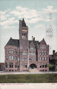 Pennsylvania Alleghany High School 1908