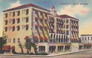 Arkansas Rogers Harris Hotel