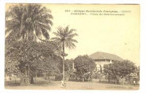 Afrique Occidentale Francaise, Place Du Gouvernement, Conakry, Guinee, Africa...