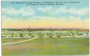USA, Replacement Center Barracks, Fort Francis E. Warren, Cheyenne, Wyoming