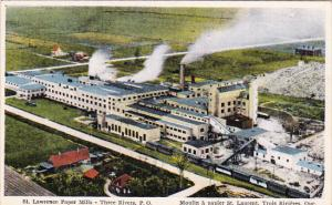 St Lawrence Paper Mills , Three Rivers , Quebec , Canada , 00-10s