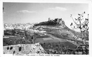 Portugal Castelo Vista parcial, tomada dos moinhos, castle 1962