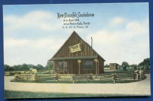 New Braunfels Smokehouse Guadalupe County Texas Postcard
