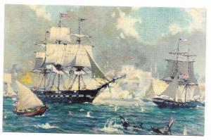 U.S.F constitution in harbour of tripoli Nautica 01.28