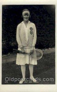 Miss Joan Ridley Tennis Unused