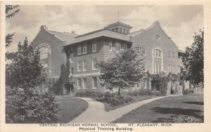 Mount Pleasant Michigan~Central MI Normal School-Physical Training Bldg~1940s