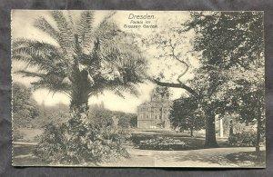 5278 - GERMANY Dresden c1907-10 Palais im Grossen Garten
