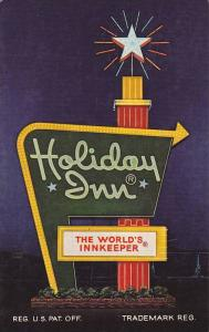 Holiday Inn Logo postcard , ABERDEEN , Maryland , 40-60s