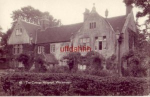 RPPC ENGLAND. THE COTTAGE HOSPITAL, WARMINSTER, Wiltshire