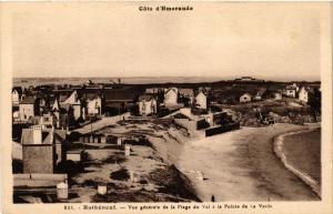 CPA ROTHÉNEUF Vue générale de la Plage du Val a la Pointe de la Verde (298209)