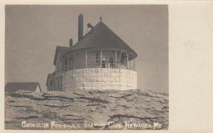 RP: CAPE NEWAGEN , Maine,  1901-07 ; Cuckholds Fog Signal Station