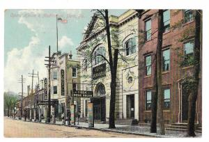 York PA Opera House &Vaudeville Auditorium 1909 Vtg Postcard