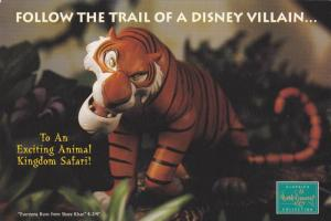 Follow the trail of a Disney Villain (Shere Khan) , Walt Disney Resort, 1980-90s
