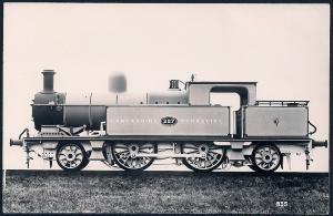 LANCASHIRE & YORKSHIRE Railroad Locomotive #227 RPPC unused
