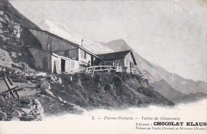 Pierre-Pointe.-Vallee de Chamonix , Switzerland , 00-10s CHOCOLAT KLAUS