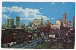 Skyline Of Detroit