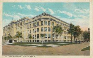 SPRINGFIELD , Illinois, 1910s ; St. John's Hospital