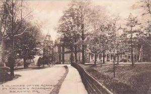 Pennsylvania Beatty A Glimpse Of The Academy St Xaviers Academy Albertype