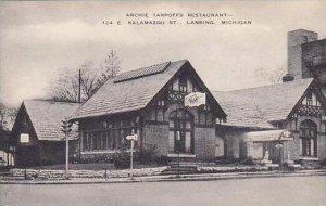 Michigan Lansing Archie Tarpoffs Restaurant Artvue