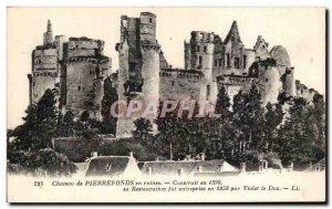 Old Postcard Chateau de Pierrefonds