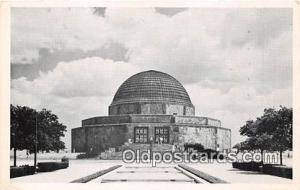 Space Postcard Post Card Chicago Park District, IL, USA Adler Planetarium & A...