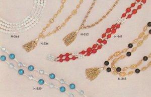 Necklaces , 1950-60s