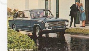 FIAT 124 4-Door Sedan, 1960-80s