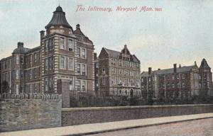 Newport The Infirmary Postcard