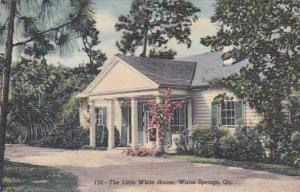Georgia Warm Springs The Little White House 1950 Curteich