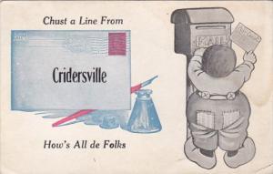 Chust A Line From Cridersville Ohio 1913