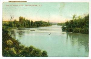 View of Magog River, SHERBROOKE , P.Q., Canada , PU-1908