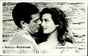 IMN00823 marcelo mastroiani rosanna schiaffino  actor movie star film 5x7cm