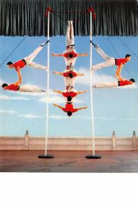 China, People's Republic of China Acrobatics on Poles  Acrobatics on Poles