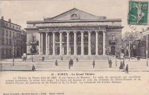 France Nimes Le Grand Theatre 1907