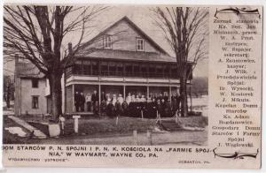 Spojnia Farm, Pozdrowienie Z, Family Spojnia, W Waymart PA