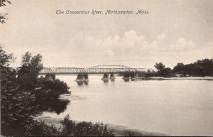 Massachusetts Northampton Scene On The Connecticut River