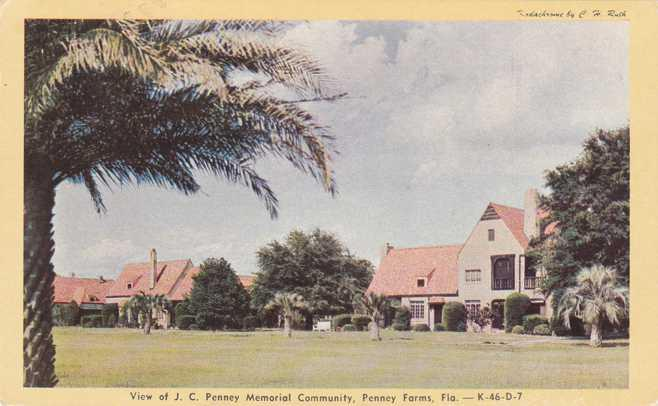 Penney Memorial Community - Penney Farms FL, Florida - pm 1949