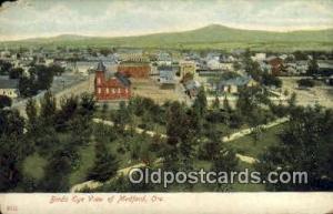 Medford, OR Post Card  ;      :      Medford, Oregon Medford OR Unused