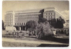 Warsaw Poland Headquarters Central Committee PZPR ca '60's