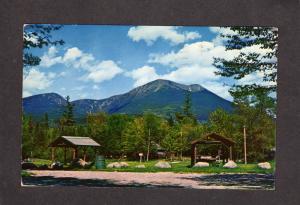 ME Camps Mt Katahdin Baxter State Park Campground Stream MAINE Postcard