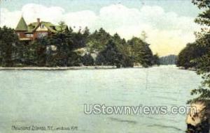 Landons Rift Thousand Islands NY Postal Used Unknown