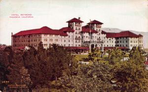 Hotel Raymond, Pasadena, California, Early Postcard, Used in 1910