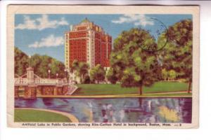 Lake, Ritz-Carlton Hotel, Boston Massachusetts, National Merchandising Co, Po...
