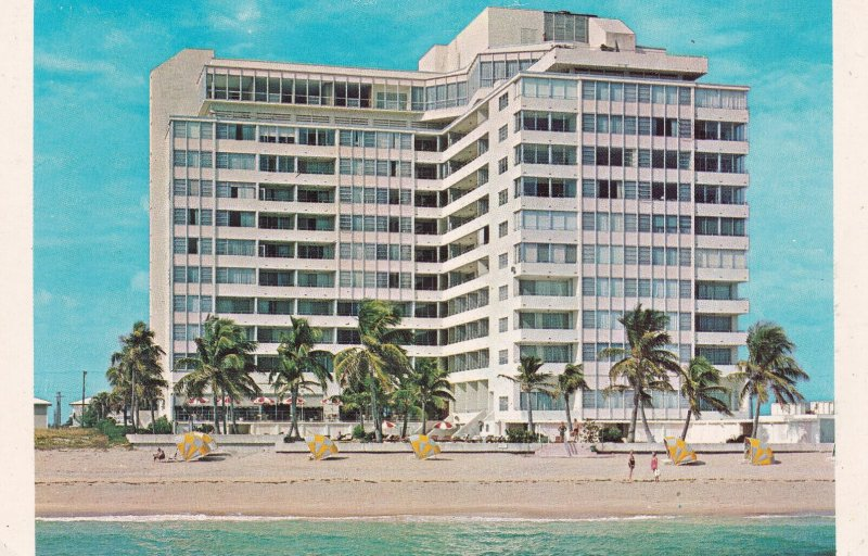 FORT LAUDERDALE, Florida,1950-1960s; The Ocean Manor Hotel