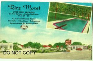 Ritz Motel, Little Rock Ark
