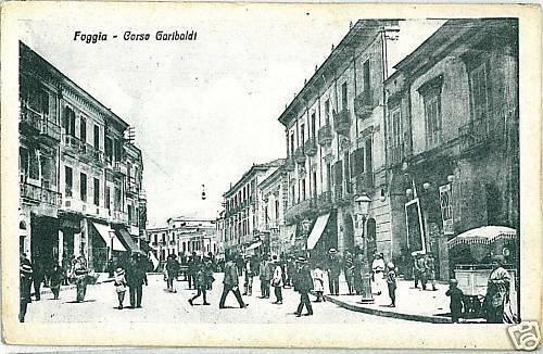FG001  CARTOLINA d'Epoca: FOGGIA Città - BELLA!
