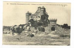 TREGASTEL, Ploumanach (C. -du-N) - Chateau de Costaeres ou Henri Sienkiewiez ...