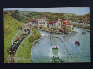 SCARBOROUGH Open Air Theatre & Peasure Park - Brian Gerald c1940's Postcard