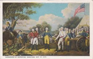 Surrender Of Burgoyne Saratoga 17 October 1777 Curteich