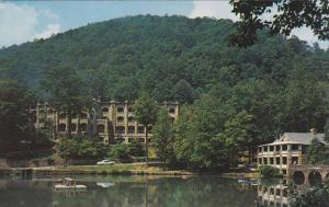 Lake Susan Showing Assembly Inn And Lakeside Building, Montreat Presbyterian ...